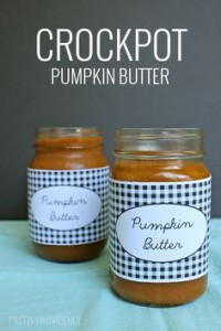 slow cooker pumpkin butter canned