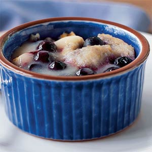 blueberry–custard
