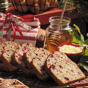 cranberry poppyseed-bread