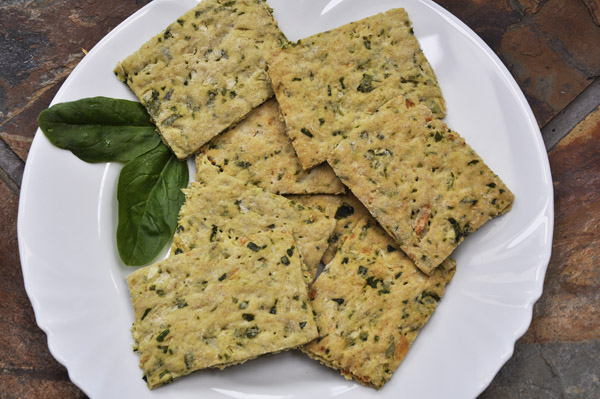 vegetable crackers recipe