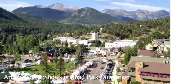 downtown estes park CO