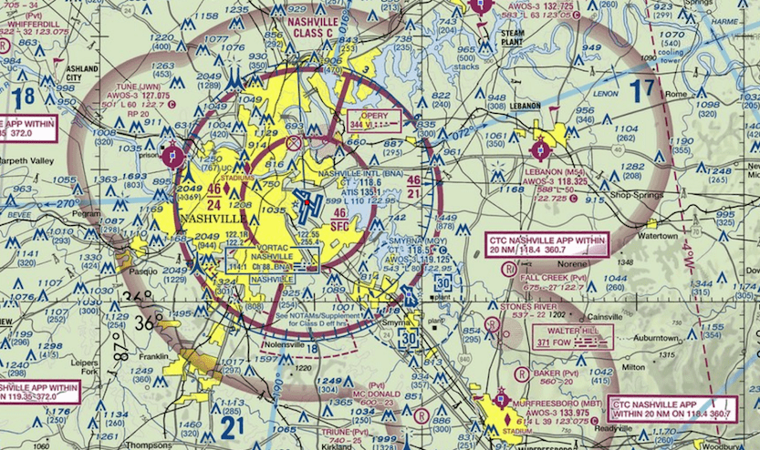 Understanding and using an aeronautical map is also a prerequisite to obtaining a UAV license from the FAA.