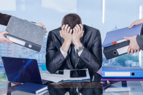 business owner stress